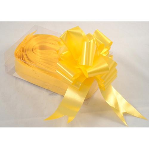 Florist Ribbon Bows 5cm Yellow