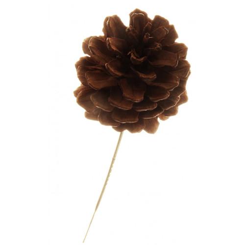 Natural 5cm Pine Cones On Sticks