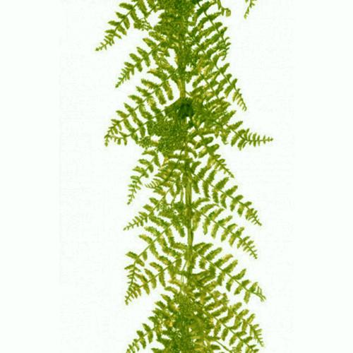 Artificial Green Fern Garland