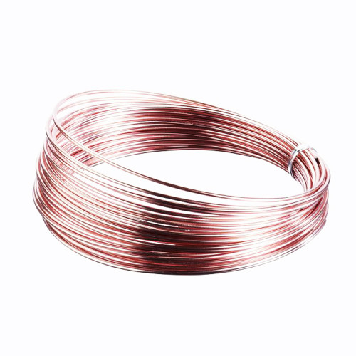 Aluminium Wire 100g Rose Gold