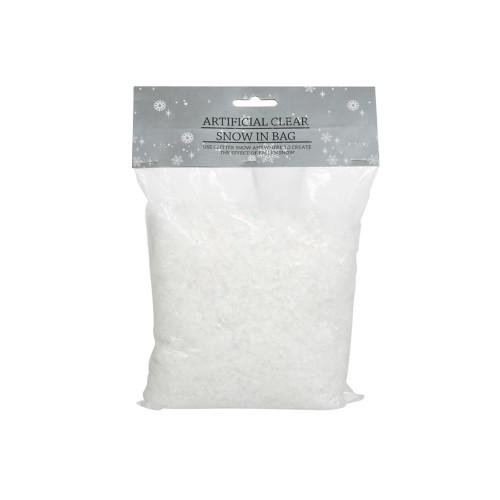 Artificial Clear  White Snow Powder 140g Bag