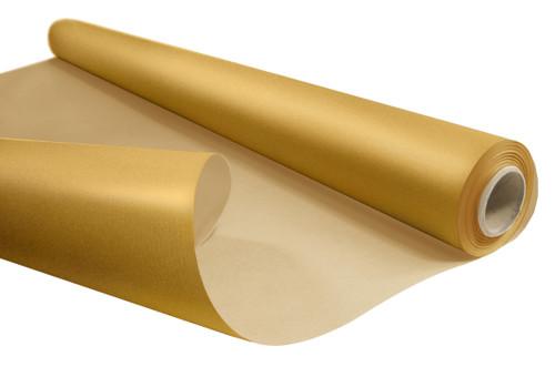 Kraft Paper Roll 50cm x 200m 6kg Gold / Natural Back