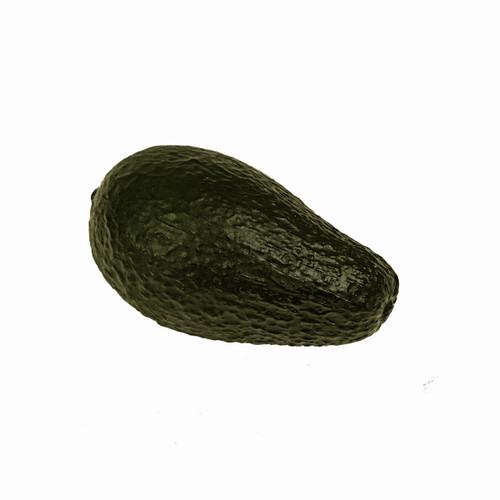 Artificial Fruit Avocado Dark Green 12cm