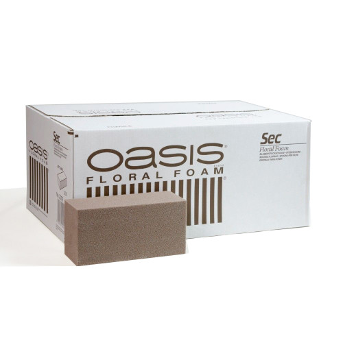 Oasis® Dry SEC Floral Foam Brick Carton of 20