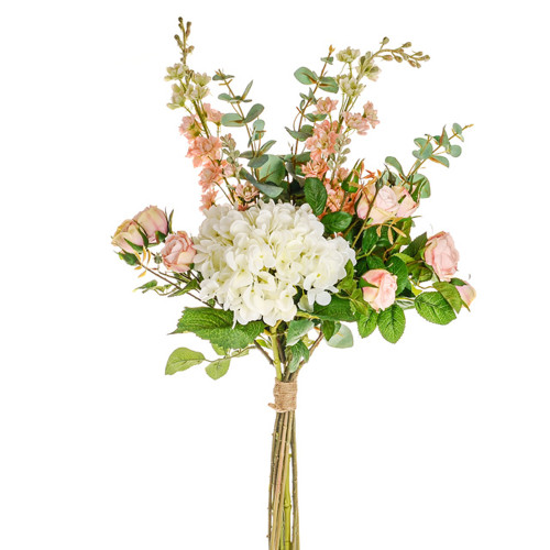 Somerset Mixed Artificial Bouquet Pink