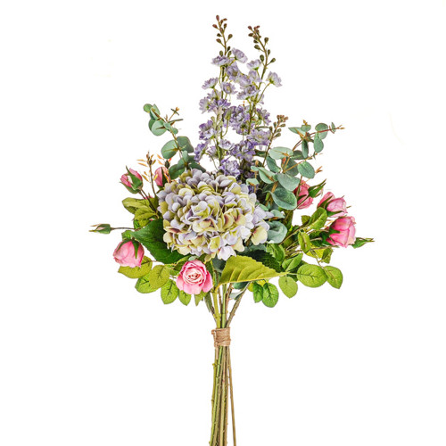 Somerset Mixed Artificial Bouquet Purple