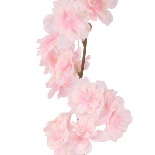 Blossom Garland Spring Summer Flowers Pink Ivory 210cm