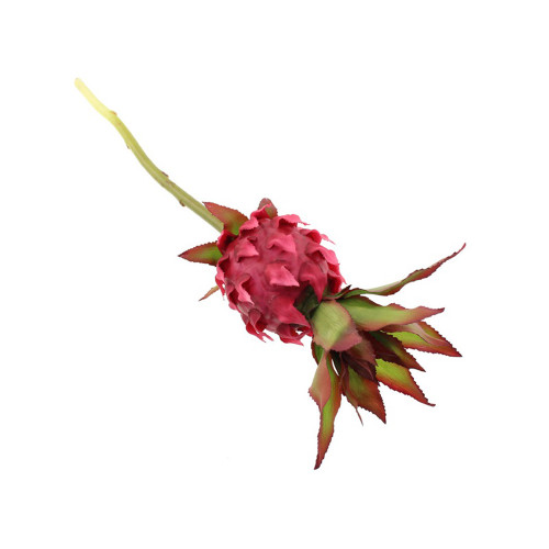 Artificial Pineapple Flower Pick  Red