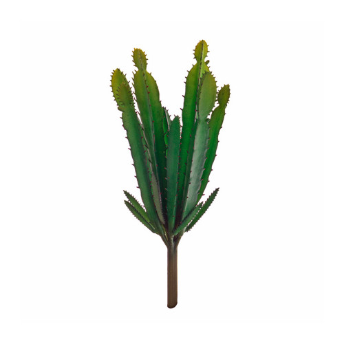 Mini Euphorbia Artificial Green Cactus Pick
