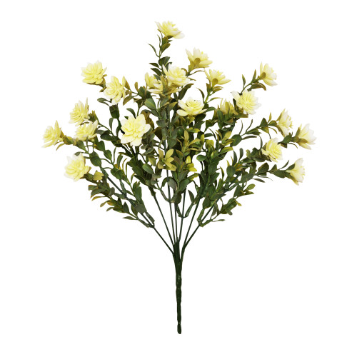 Mini Artificial Succulent Plant Bush Cream