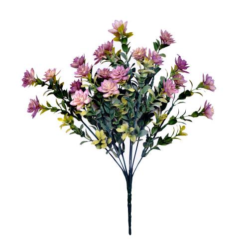 Mini Artificial Succulent Plant Bush Lavender