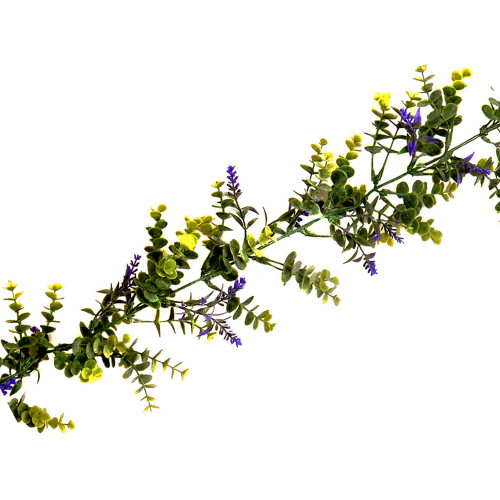Artificial Lavender and Eucalyptus Spring Garland