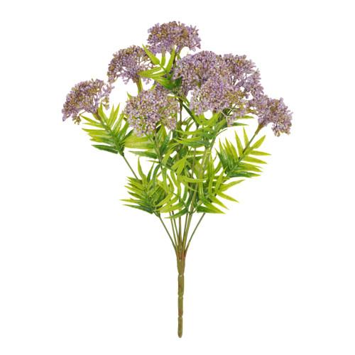 Viburnum Bunch Artificial 9 Heads Lilac