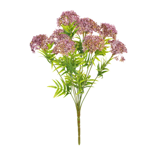 Viburnum Bunch Artificial 9 Heads Pink