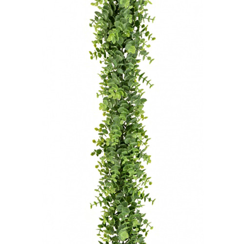 Artificial Eucalyptus Garland Green