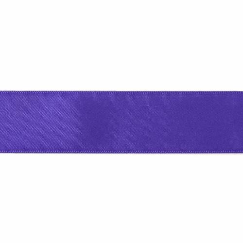 Satin Florist Ribbon 25mm/1 Inch Wide on a 20m/22yd Roll Purple