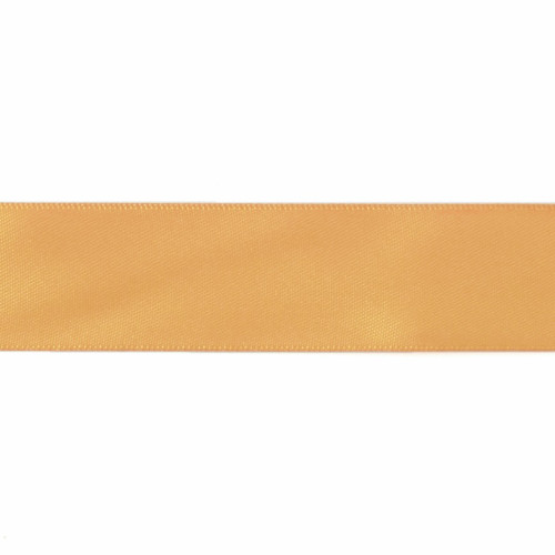Satin Florist Ribbon 25mm/1 Inch Wide on a 20m/22yd Roll Yellow