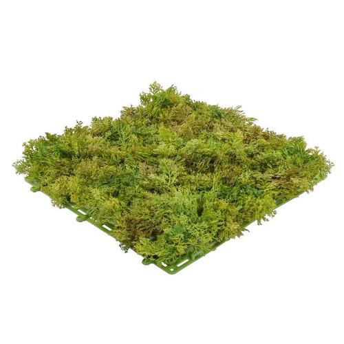 Green Artificial Reindeer Moss Mat