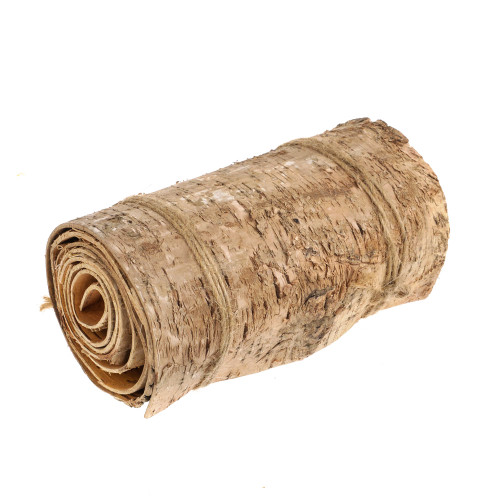 Natural Birch Bark Continuous Roll 120cm Long 15cm Wide