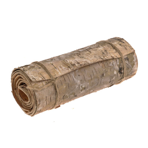 Natural Birch Bark Continuous Roll 120cm Long 20cm Wide
