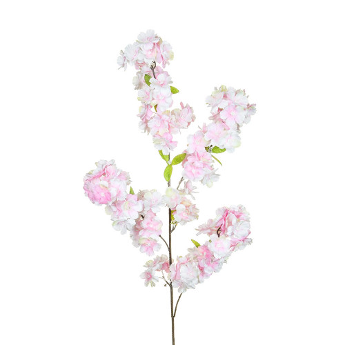 Artificial Cherry Blossom Branch Pink Flowers