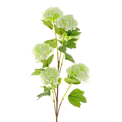 Artificial Snowball Viburnum Cream