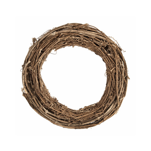 Wreath Base Natural Willow