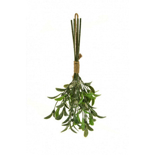Frosted Artificial Mistletoe Bundle 5 Stems