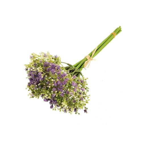 Gypsophila Bundle Artificial 26cm/10 Inches Lavender