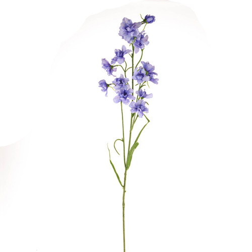 Delphinium Artificial Silk 76cm Pack of 3 Stems Lilac