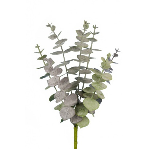 Artificial Spiral Eucalyptus Pick Green 30cm