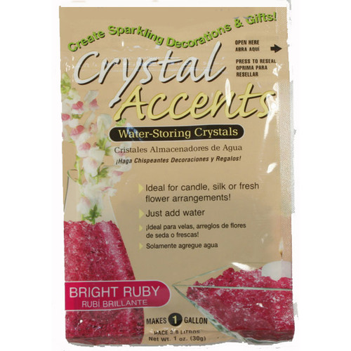 Crystal Accents Bright Ruby / Cerise