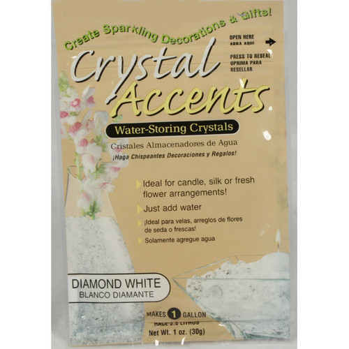 Crystal Accents Diamond White