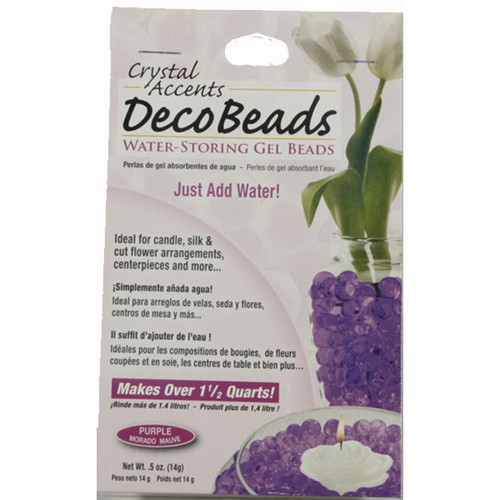 Deco Beads Purple