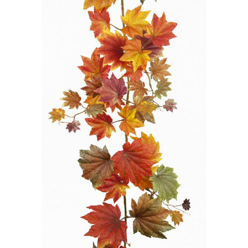 Maple Leaf Autumn Garland 182cm