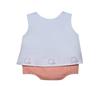 Orange/Navy Boy Diaper Set