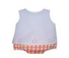 Orange Boy Diaper Set