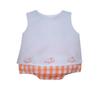 Orange Girl Diaper Set