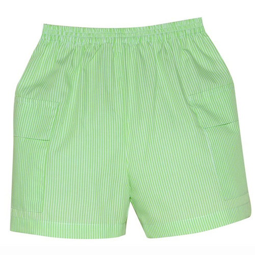 Lime Stripe Cargo Short**