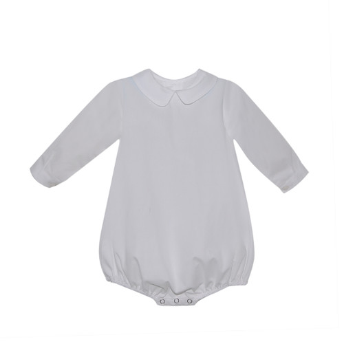 Boy Piped Long Sleeve Bubble