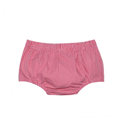 Boy Diaper Cover - Red