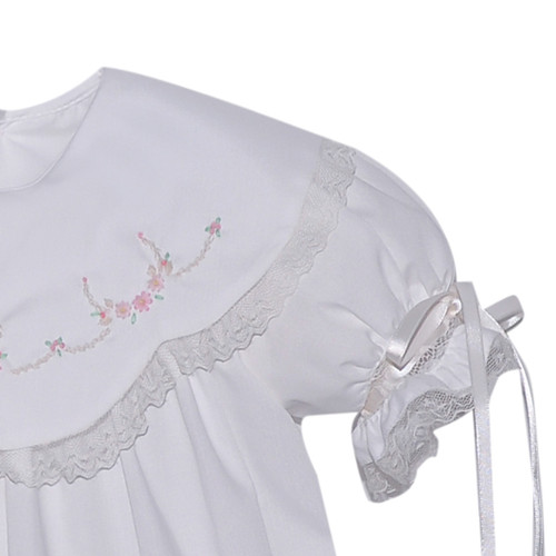 Evelyn Girl Bubble - White