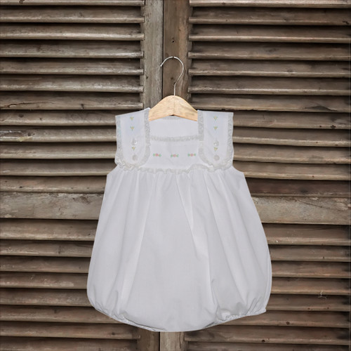 Eleanor Girl Bubble - White
