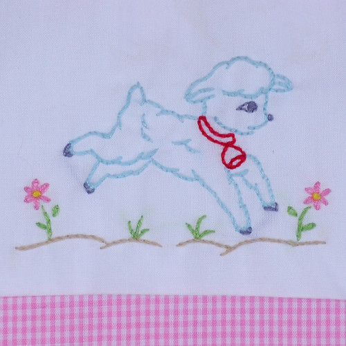 Little Lamb Girl Bubble