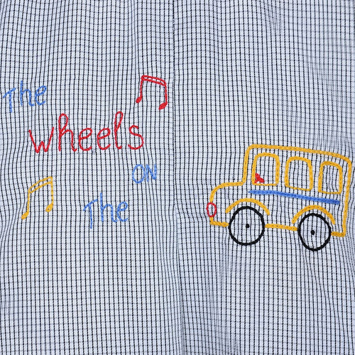 The Wheels on the Bus Shortall