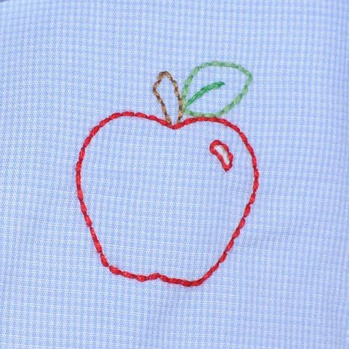 Apple Boy Romper