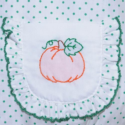 Pumpkin Dress-White