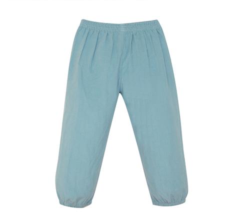 Logan Elastic Pant- Cadet Blue