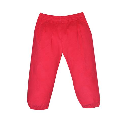 Logan Elastic Pant- Red