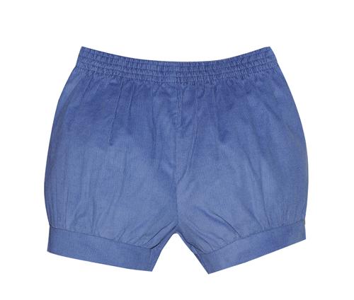 Benjamin Banded Short- Steel Blue